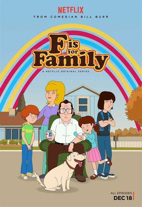 F is for Family : Poster