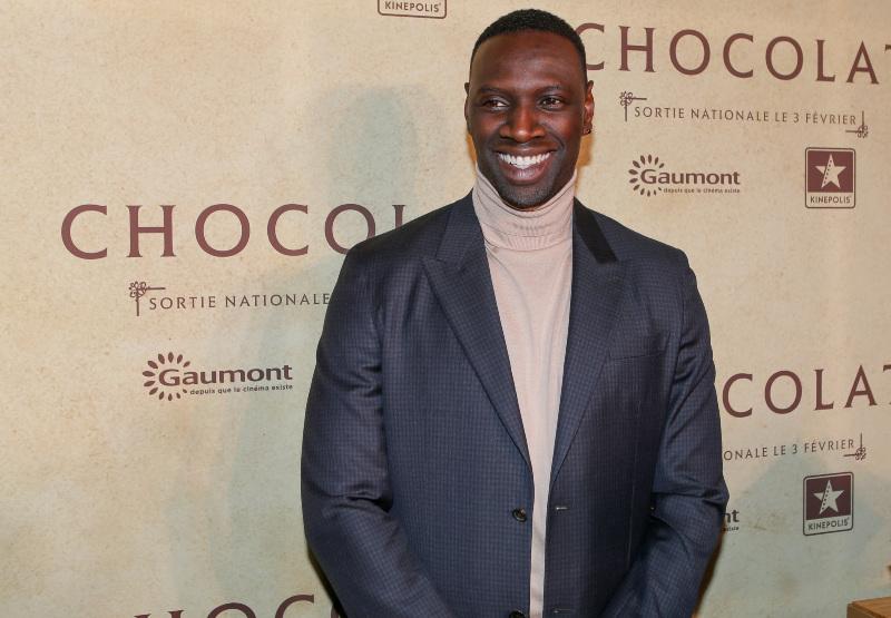 Chocolate : Vignette (magazine) Omar Sy