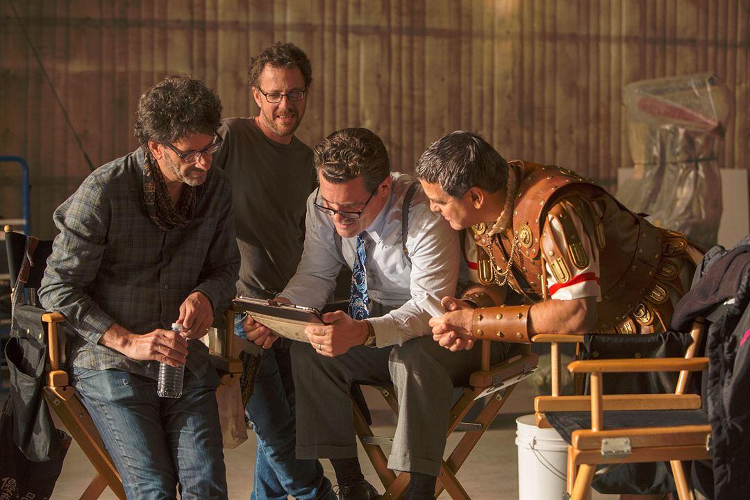 Ave, César! : Foto Ethan Coen, George Clooney, Joel Coen, Josh Brolin