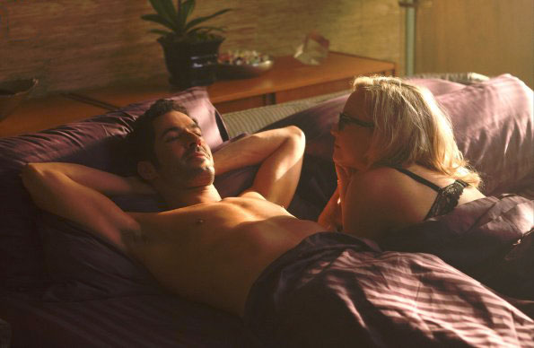 Foto Rachael Harris, Tom Ellis