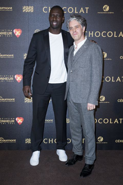 Chocolate : Vignette (magazine) James Thiérrée, Omar Sy