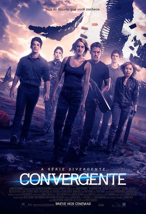 A Série Divergente: Convergente : Poster