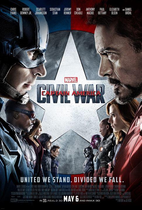 Capitão América: Guerra Civil : Poster