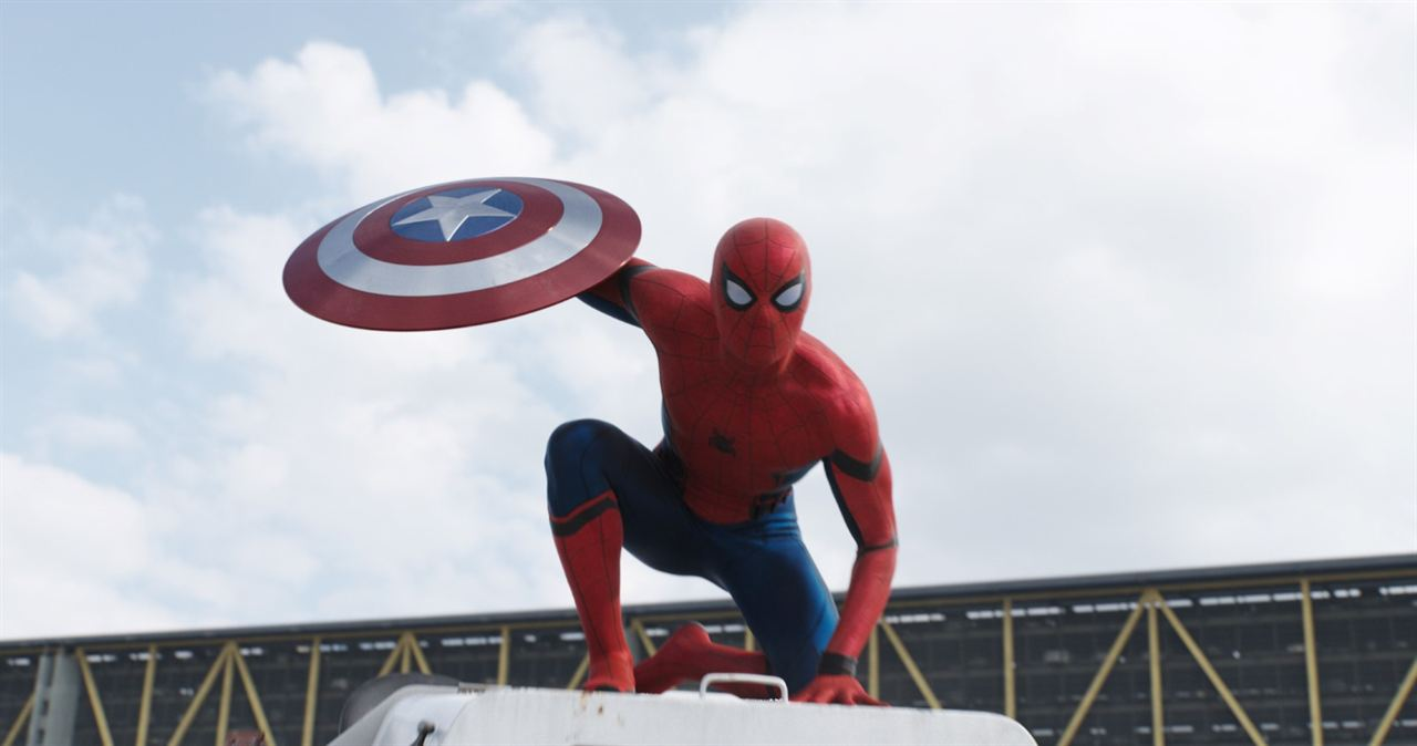 Capitão América: Guerra Civil : Foto Tom Holland
