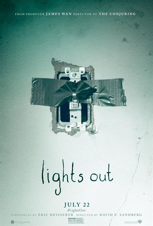 Quando as Luzes se Apagam : Poster