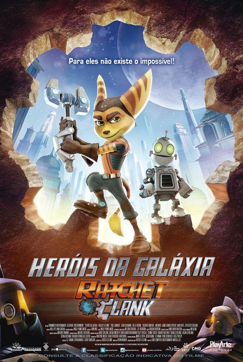Heróis da Galáxia: Ratchet e Clank : Poster