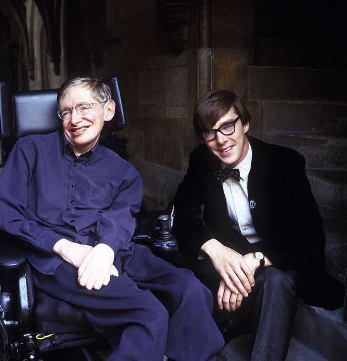 A História de Stephen Hawking : Foto Benedict Cumberbatch, Stephen Hawking