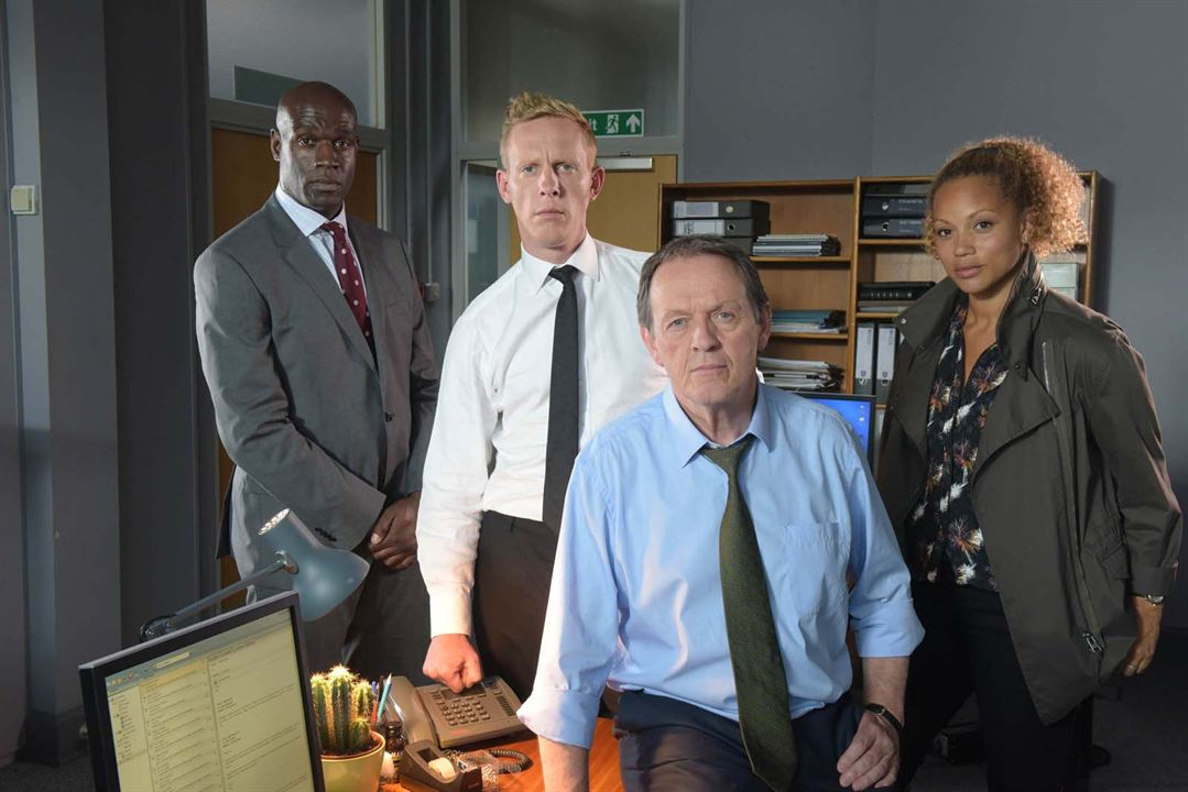 Foto Angela Griffin, Kevin Whately, Laurence Fox, Steve Toussaint