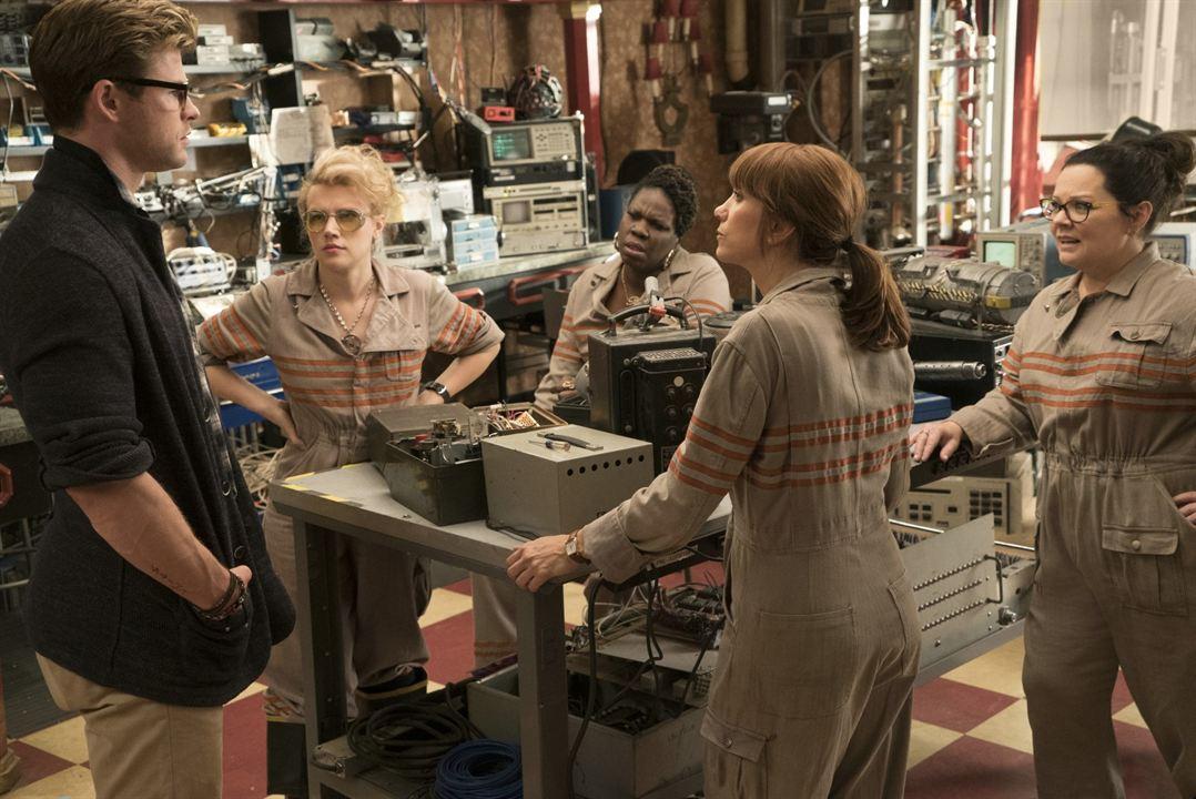 Caça-Fantasmas : Foto Chris Hemsworth, Kate McKinnon, Kristen Wiig, Leslie Jones (II), Melissa McCarthy