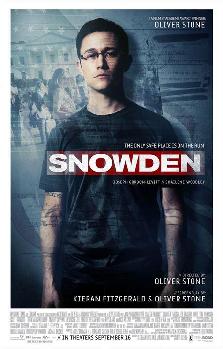 Snowden : Poster