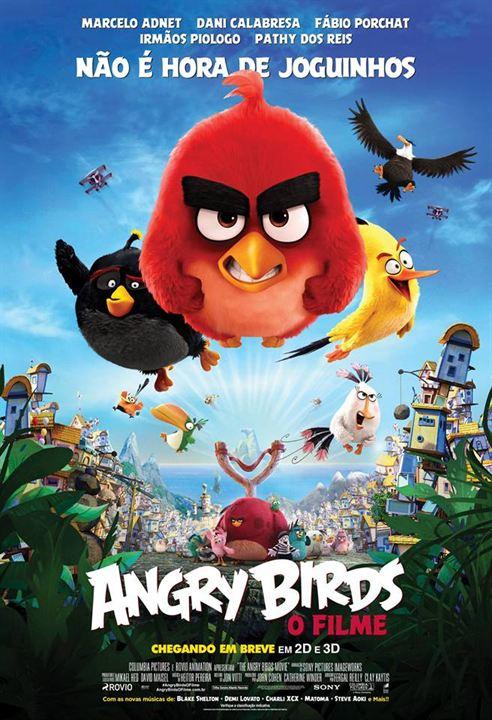 Angry Birds - O Filme : Poster