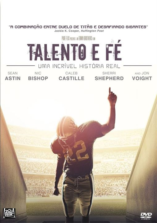 Talento e Fé : Poster