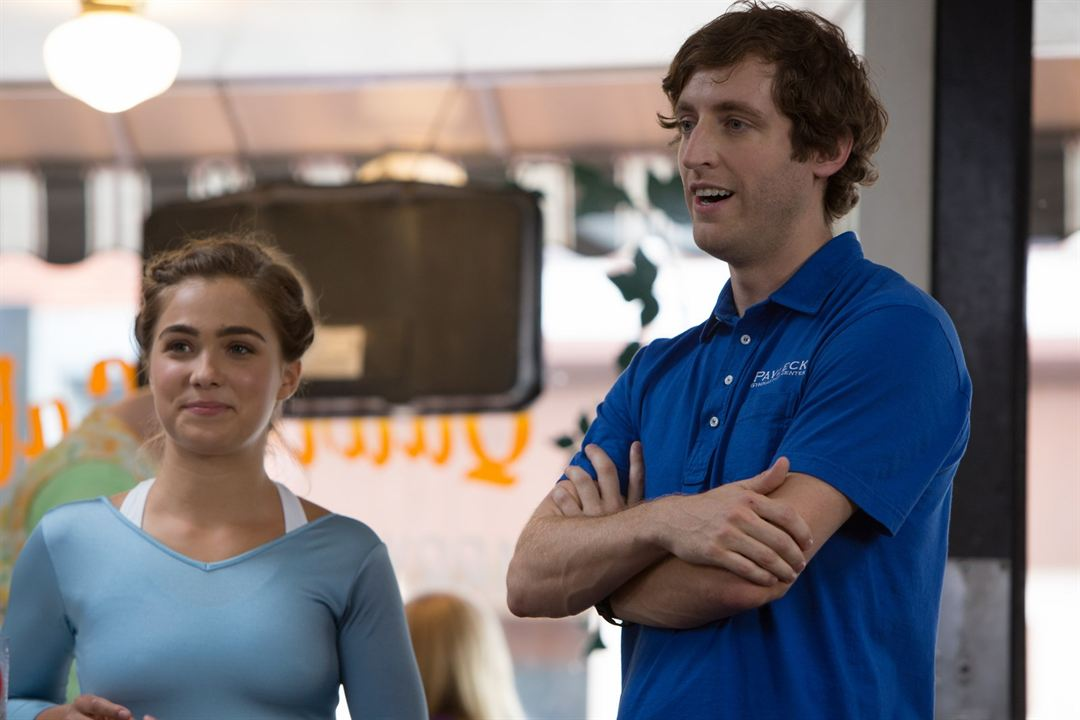 Medalha De Bronze : Foto Haley Lu Richardson, Thomas Middleditch