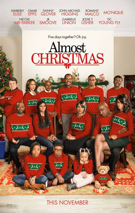 Almost Christmas : Poster