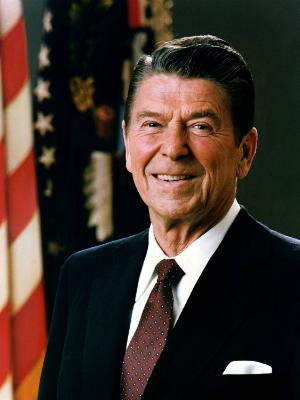 Poster Ronald Reagan
