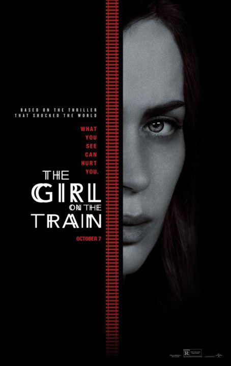 A Garota no Trem : Poster