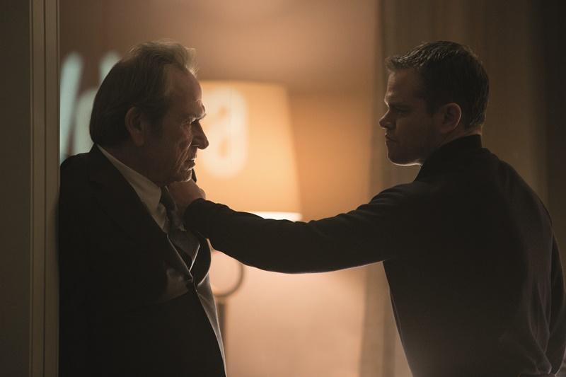 Jason Bourne : Foto Matt Damon, Tommy Lee Jones