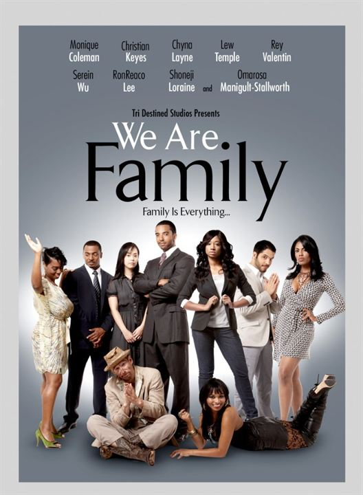 We Are Family : Poster