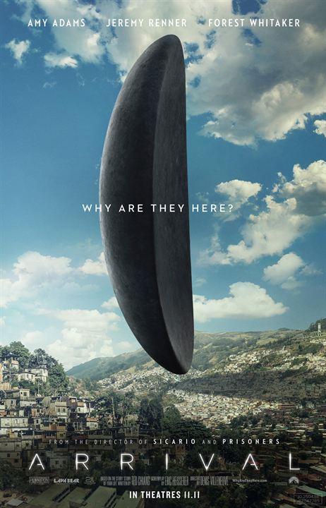 A Chegada : Poster