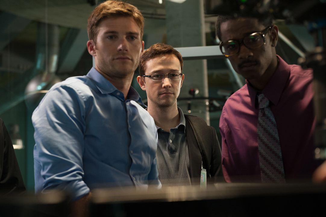 Snowden - Herói ou Traidor : Foto Joseph Gordon-Levitt, Scott Eastwood
