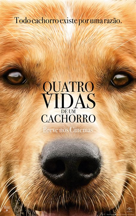 Quatro Vidas de um Cachorro : Poster