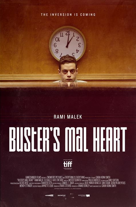 Buster's Mal Heart : Poster