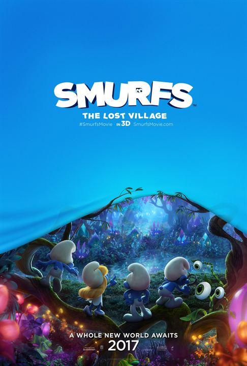 Os Smurfs e a Vila Perdida : Poster