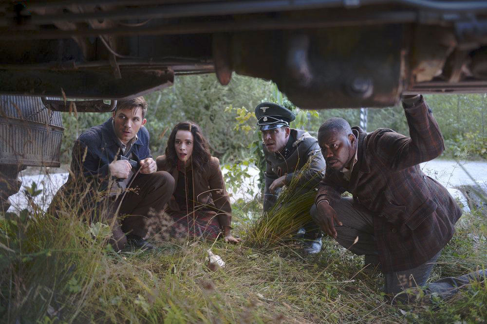 Foto Abigail Spencer, Malcolm Barrett, Matt Lanter, Sean Maguire