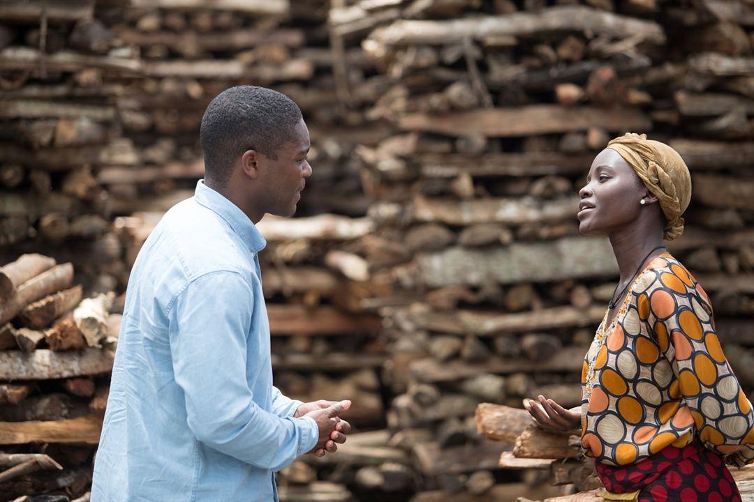 Rainha de Katwe : Foto David Oyelowo, Lupita Nyong'o