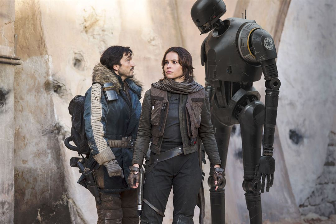 Rogue One - Uma História Star Wars : Foto Diego Luna, Felicity Jones