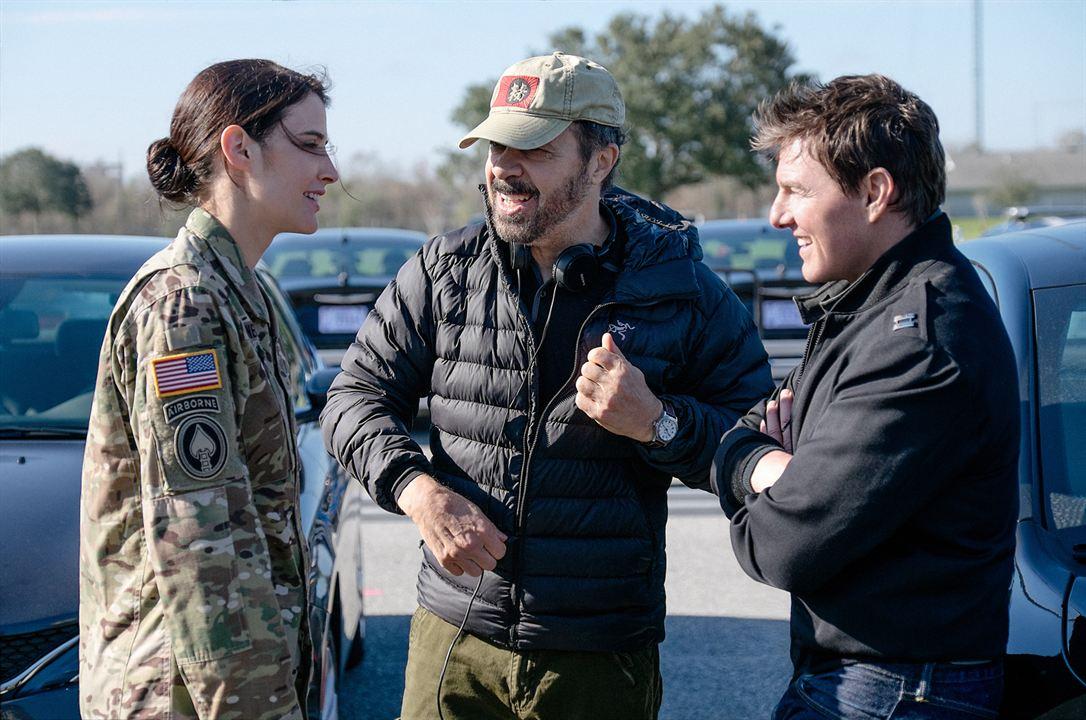 Jack Reacher: Sem Retorno : Foto Cobie Smulders, Edward Zwick, Tom Cruise