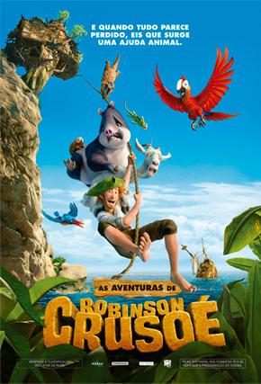 As Aventuras de Robinson Crusoé : Poster