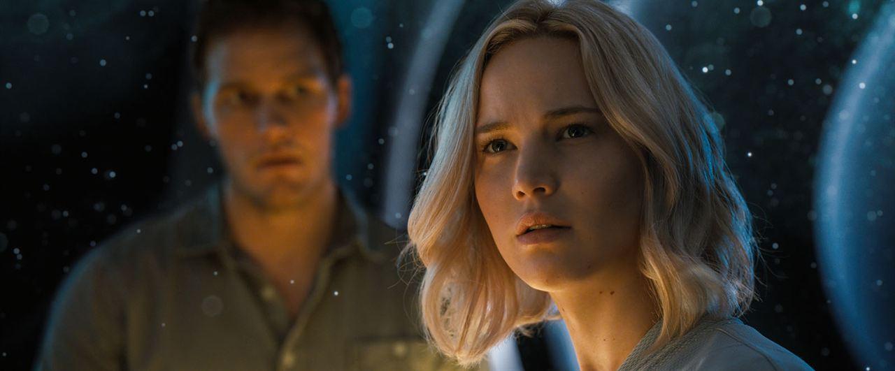 Passageiros : Foto Chris Pratt, Jennifer Lawrence