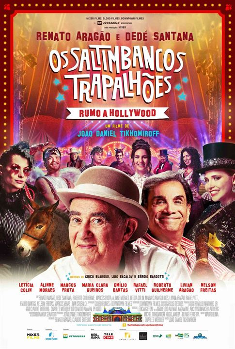 Os Saltimbancos Trapalhões - Rumo a Hollywood : Poster