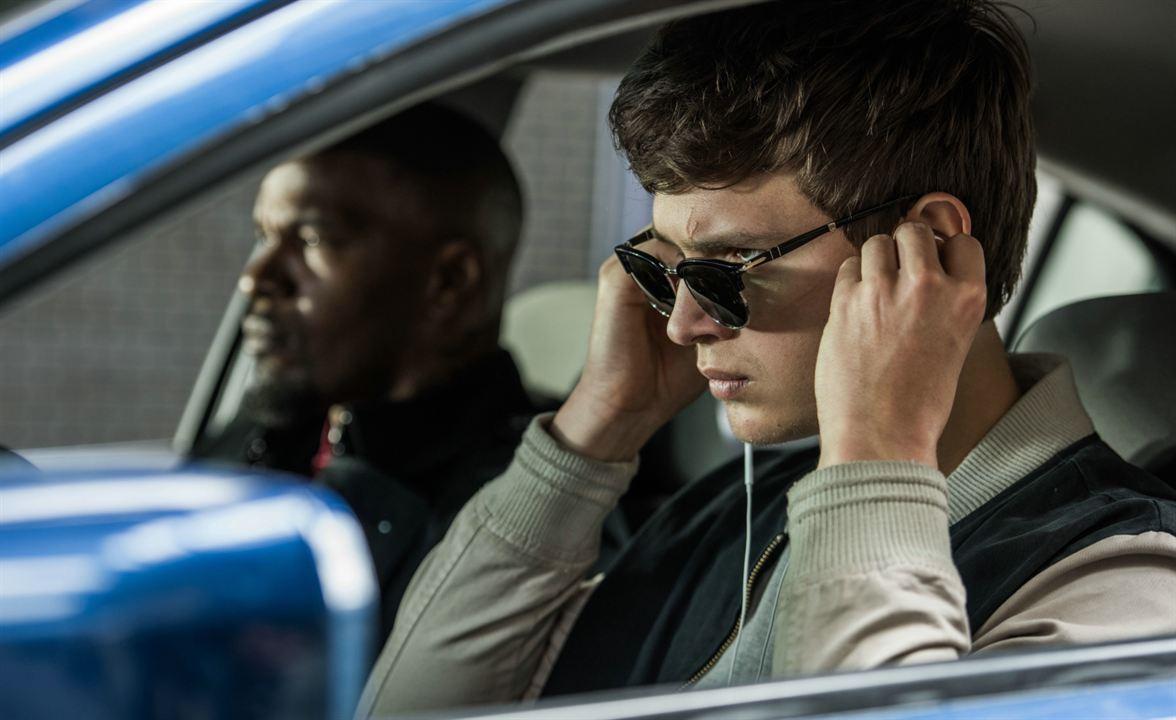Em Ritmo de Fuga (Baby Driver) : Foto Ansel Elgort, Jamie Foxx
