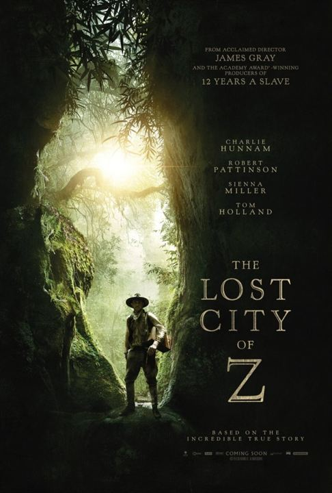 Z - A Cidade Perdida : Poster