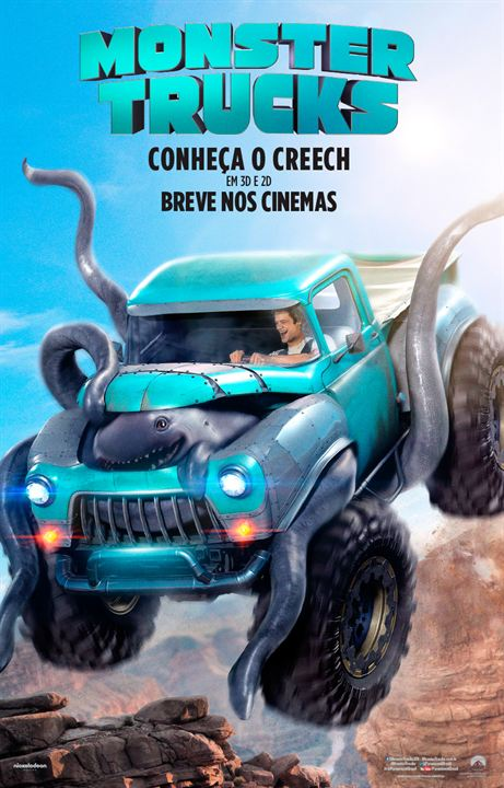 Monster Trucks : Poster