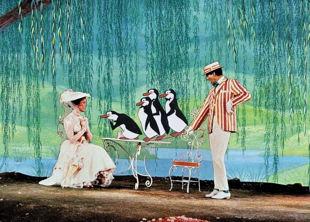 Mary Poppins : Foto Dick Van Dyke, Julie Andrews