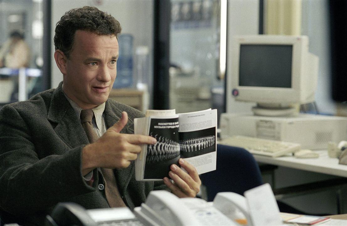 O Terminal : Foto Tom Hanks