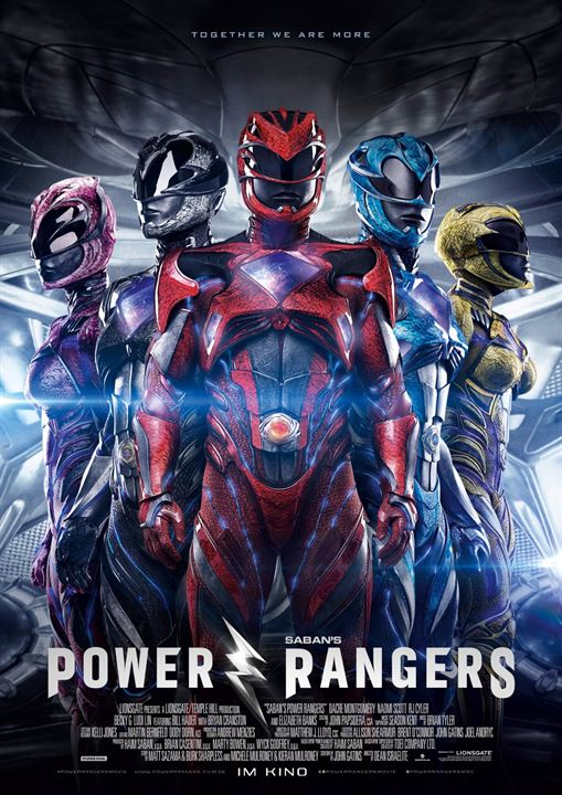 Power Rangers : Poster