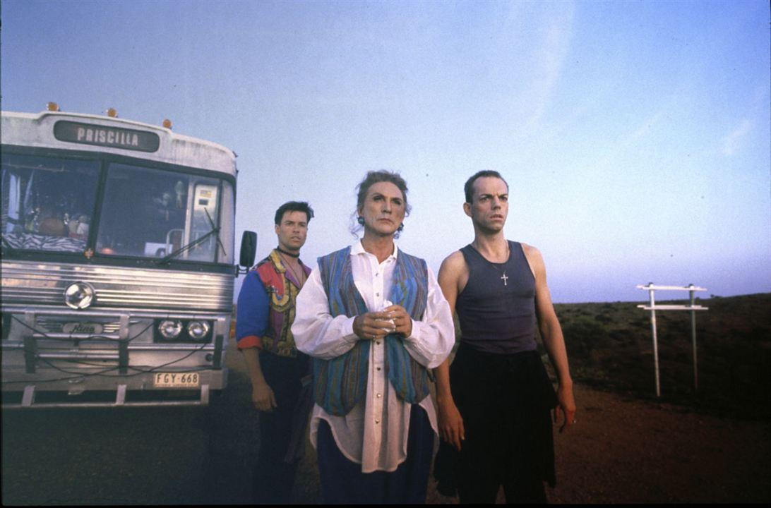 Priscilla, a Rainha do Deserto : Foto Guy Pearce, Hugo Weaving, Terence Stamp