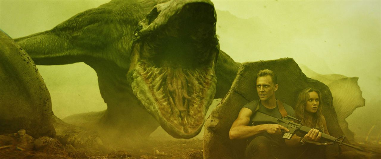 Kong: A Ilha da Caveira : Foto Brie Larson, Tom Hiddleston