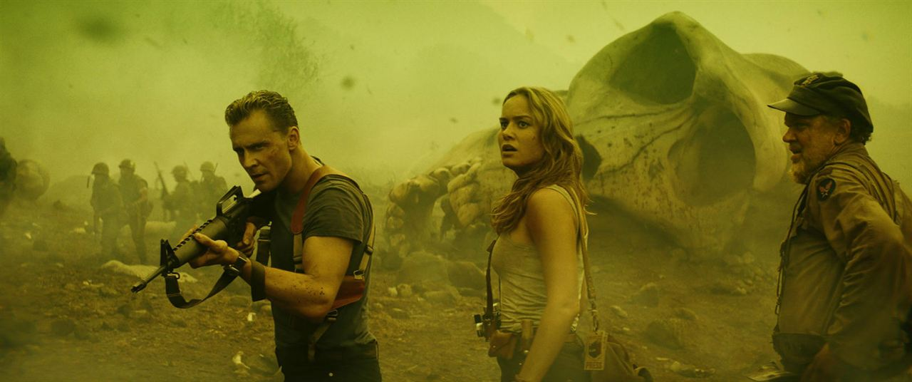 Kong: A Ilha da Caveira : Foto Brie Larson, John C. Reilly, Tom Hiddleston