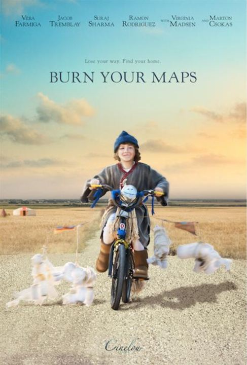 Burn Your Maps : Poster
