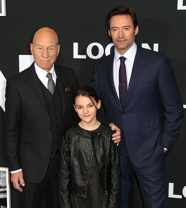 Logan : Vignette (magazine) Dafne Keen, Hugh Jackman, Patrick Stewart