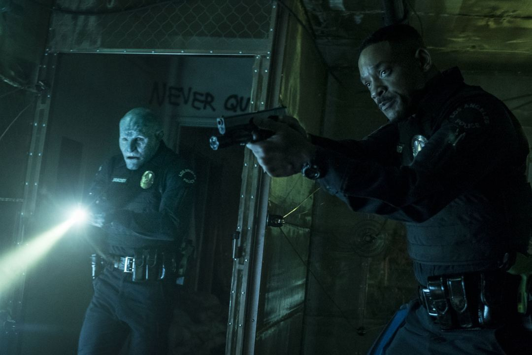 Bright : Foto Joel Edgerton, Will Smith