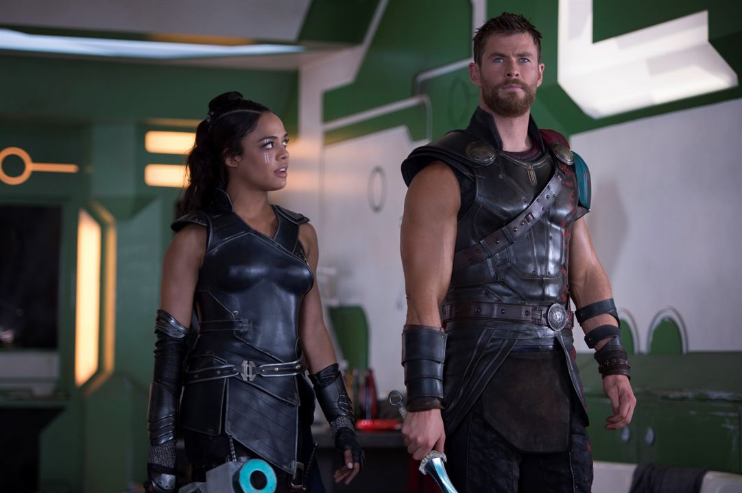 Thor: Ragnarok : Foto Chris Hemsworth, Tessa Thompson