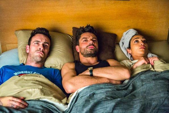 Foto Dominic Cooper, Joseph Gilgun, Ruth Negga