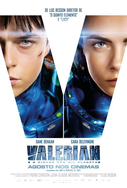 Valerian e a Cidade dos Mil Planetas : Poster