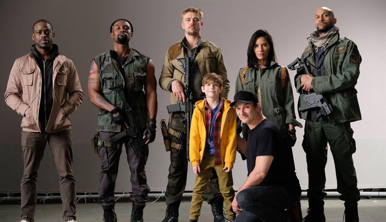 O Predador : Vignette (magazine) Boyd Holbrook, Jacob Tremblay, Keegan-Michael Key, Olivia Munn, Shane Black